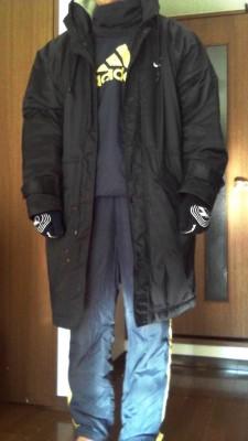 サッカー観戦の服装1