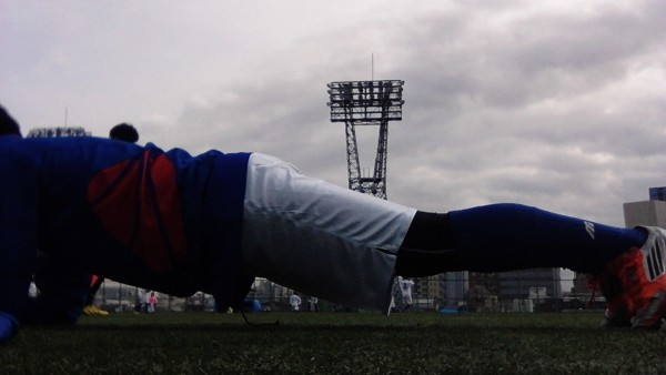 体幹トレーニング_サッカー_メニュー7
