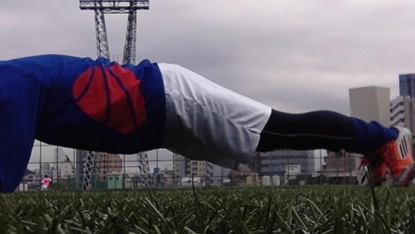 体幹トレーニング_サッカー_メニュー8