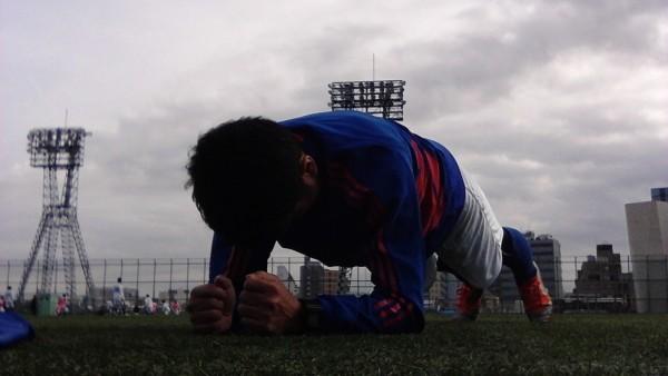 体幹トレーニング_サッカー_メニュー9