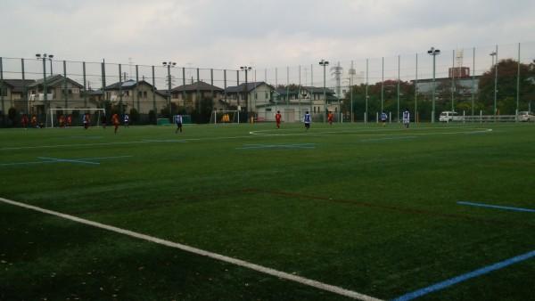 サッカー練習試合1