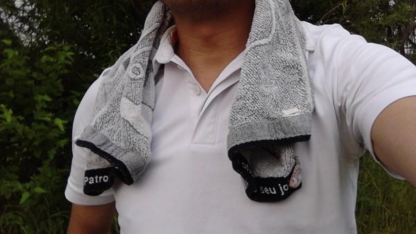 ゴルフマナー首からタオル1