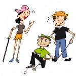 ゴルフマナーウェアの帽子やクラブハウスで初心者の注意点は?