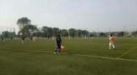 サッカーサイドバック動き方ポジション8_練習試合